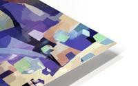 Seamless Geometric Vivid Abstract HD Metal print