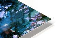Smouldering blue Impression metal HD