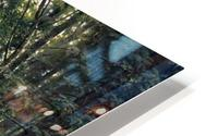 Stream by a forest slope HD Metal print
