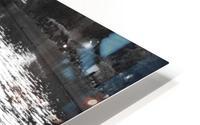 Couche du Soleil - La Seine HD Metal print