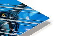 Shimmer In The 6ix HD Metal print
