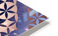Flower of Life Mandala Pattern HD Metal print