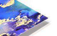Starlight in Blue HD Metal print