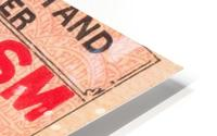 1927 cornell penn ivy league football ticket stub collection HD Metal print