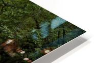 Rushing water at Horseshoe falls HD Metal print