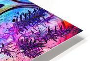 Psychedelic Herbs HD Metal print