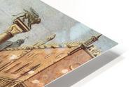 The Piazzetta from the Bacino di San Marco HD Metal print