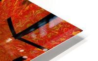 Lotus In Flames 1 HD Metal print