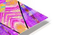 Lotus In Glass 2 HD Metal print