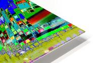 Cross words HD Metal print