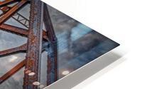 Pont de fer Haldimand HD Metal print
