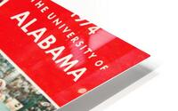 1974 Alabama Football Print HD Metal print