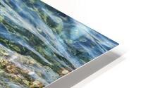 Close up of water on shore of slovenian resort town Piran Slovenia HD Metal print