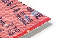 1950 Mississippi State vs. Georgia HD Metal print