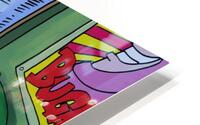 Bedtime stories - Bugville Critters HD Metal print