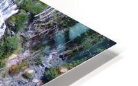 Narada Falls at Mount Rainier Pacific Northwest HD Metal print