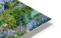Rainbow Falls Rainier HD Metal print
