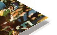 1966 Green Bay Packers Football Art HD Metal print