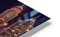 Dubai Marina Night Shot HD Metal print
