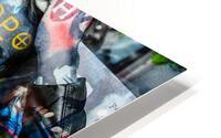 LA FEMME A LA VESTE DE CUIR  HD Metal print
