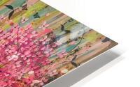 Floral Cascade  HD Metal print