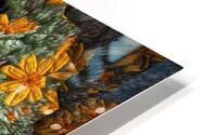 Textures HD Metal print