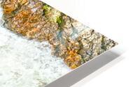 Rocky Mountain Rapids and Waterfalls 1 of 8 HD Metal print