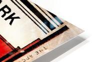 1933 Comiskey Park All-Star Game Ticket Art HD Metal print