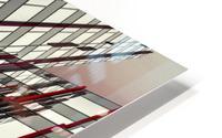 red lines by Gilbert Claes  HD Metal print