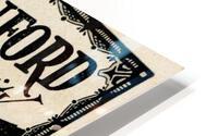 1930 Washington vs. Stanford Ticket Stub Art HD Metal print