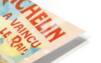 Le Pneu Michelin a vaincu le rail HD Metal print