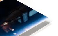 Gentle Blue Touch HD Metal print