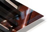 Piano Keys One Octave Plus HD Metal print