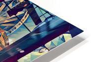seattle great wheel art HD Metal print