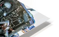 Aircraft Cockpit HD Metal print