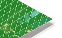 Green Checkers Pattern HD Metal print