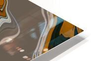 Reflection in Chrome HD Metal print