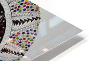 Cosmic Mandala HD Metal print