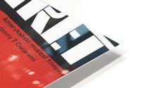 Polish Film Poster Cabaret Wiktor Gorka HD Metal print