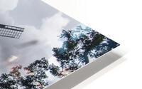 Windmill in a Storm HD Metal print