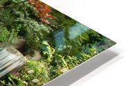 Japanese Waterfalls HD Metal print