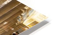 Bank Columns HD Metal print