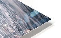 Ice Blue HD Metal print