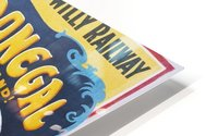 Irish Travel Art Poster, Wilds of Donegal, Ireland HD Metal print