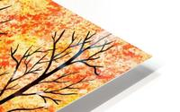 Autumn Forest Abstract  HD Metal print