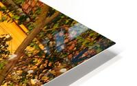 Autumn day in old town Varias HD Metal print