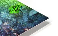 Green Paint Drops_120828_17039 HXSYV HD Metal print