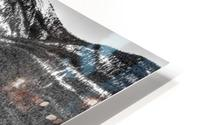 Banff_Hotel HD Metal print