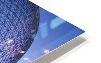 Reflections on Buckminster HD Metal print