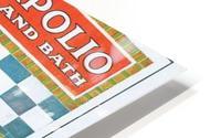 Sapolio Soap advertising poster HD Metal print